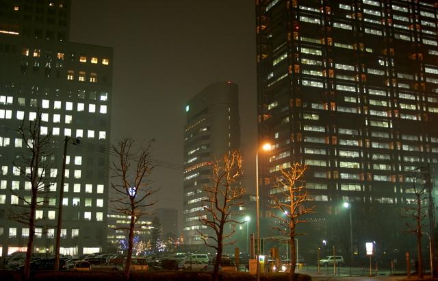 OBPの夜景